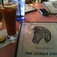 Photo taken at The Zebra Lounge by Alexandria M. on 12/22/2012