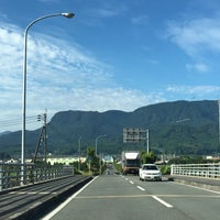Photo taken at メルヘン大橋 by 54 on 6/17/2016