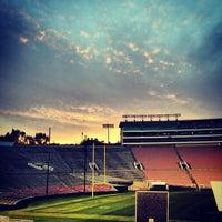 Photo taken at Rose Bowl Stadium by Adam H. on 1/23/2013