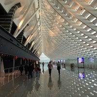 Photo taken at Taiwan Taoyuan International Airport (TPE) by Julian S. on 2/18/2013