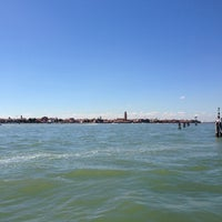 Photo taken at Vaporetto 4.2 To Murano by Nadja N. on 9/12/2013