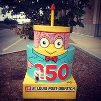Photo taken at St. Louis Post-Dispatch by Maria B. on 7/27/2014