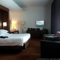 Photo taken at Sheraton Porto Hotel & Spa by António Manuel T. on 5/15/2013