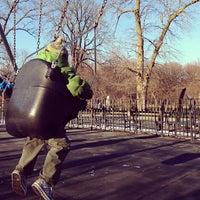 Photo taken at Vanderbilt Playground by Theresa Minton N. on 1/27/2013