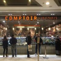 Photo taken at Comptoir Libanais by Paola B. on 3/21/2016