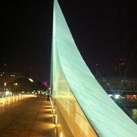 Photo taken at Puente de la Mujer by Jaime R. on 2/23/2013