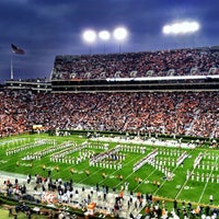 Photo taken at Pat Dye Field at Jordan-Hare Stadium by Judith C. on 10/28/2012