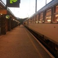 Photo taken at Gare SNCF de Modane by Kevser E. on 9/26/2014