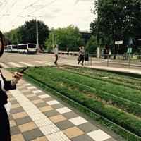 Photo taken at Tramhalte Station Zuid by Mustafa A. on 9/18/2016