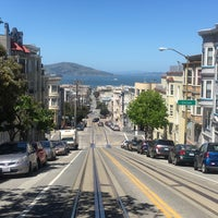 Photo taken at Russian Hill by Dag C. on 4/28/2016