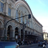 Photo taken at Torino Porta Nuova railway station (TPY) by cortimax on 12/12/2012