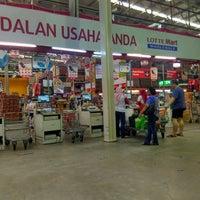 Photo taken at LotteMart Wholesale by Hendra J. on 9/3/2016