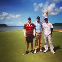 Photo taken at Mission Hills Phuket Golf Resort And Spa by Supree T. on 6/8/2013