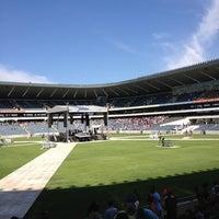 Photo taken at Orlando Stadium by Noluthando D. on 3/29/2013