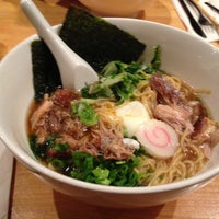 Photo taken at Momofuku Noodle Bar by The Corcoran Group on 7/19/2013