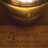 Photo taken at Apothéke by Kevin S. on 5/11/2013