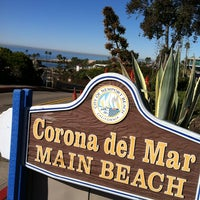 Photo taken at Corona del Mar State Beach by Angie N. on 1/20/2013