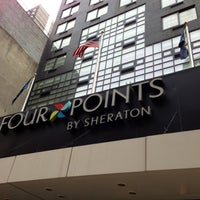 Photo taken at Four Points by Sheraton Midtown - Times Square by Cisco S. on 3/25/2013