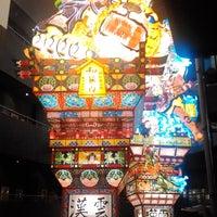 Photo taken at 立佞武多の館 by Yasuhiro H. on 8/8/2016