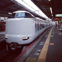 Photo taken at JR Nishikujō Station by Ken Y. on 6/30/2013