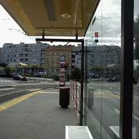 Photo taken at Nádraží Holešovice (tram, bus) by Tigra . on 9/27/2012