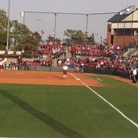 Photo taken at Marita Hynes Field at the OU Softball Complex by Leslie G. on 3/18/2014