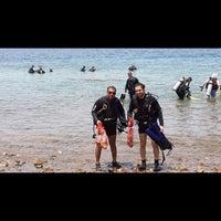 Photo taken at South Beach - Aqaba by haitham d. on 6/9/2014