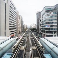 Photo taken at MRT Daan Station by chi-MAMA S. on 2/28/2015