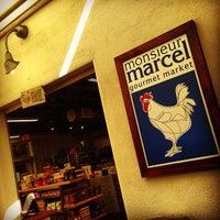 Photo taken at Monsieur Marcel Gourmet Market by @VegasWayne A. on 2/14/2013