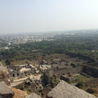 Photo taken at Golconda Fort by Andrei Panait on 2/3/2013