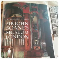 Photo taken at Sir John Soane's Museum by Purgatoire on 5/16/2013