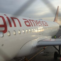 Photo taken at Virgin America by Chandini D. on 1/7/2013