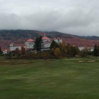 Photo taken at Mount Washington Resort Golf Club by Brendan M. on 10/9/2016