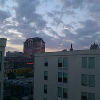 Photo taken at Aloft Milwaukee Downtown by Rand F. on 10/4/2012