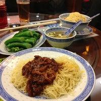 Photo taken at Mak's Noodle by Staci L. on 2/9/2013