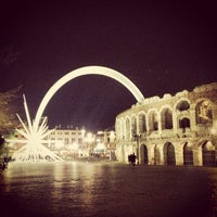 Photo taken at Arena di Verona by Michele Ercole V. on 12/6/2012