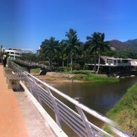 Photo taken at Rio Cuale by Chufo R. on 6/14/2013
