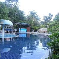 Photo taken at Baan Montra Beach Resort by Gary B. on 10/9/2012