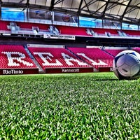 Photo taken at Rio Tinto Stadium by Major League Soccer on 10/28/2012