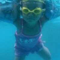 Photo taken at Mesra Hotel Swimming Pool by Emnas Tri S. on 11/10/2014
