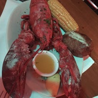 Photo taken at Lefty's Lobster and Chowder House by Mina S. on 2/15/2015