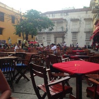 Photo taken at Plaza Santo Domingo by Carlos O. on 6/9/2013
