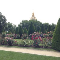 Photo taken at Jardin du Musée Rodin by Tim S. on 5/29/2014