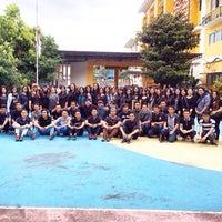 Photo taken at SMA Kristen Eben Haezar by Dwidyawati M. on 1/30/2016