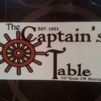 Photo taken at The Captain's Table by Jim W. on 9/30/2012