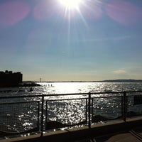 Photo taken at Louis Valentino, Jr. Park & Pier by Sarah W. on 11/9/2012