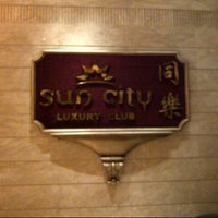 Photo taken at Sun City Restaurant and Luxury Club by Rita H. on 10/3/2012