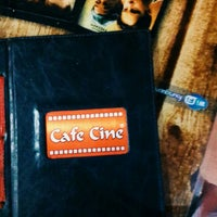 Photo taken at Cine Cafe by Selim Ç. on 8/9/2015
