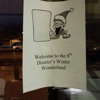 Photo taken at Chicago Police District 8 by Don B. on 12/13/2013