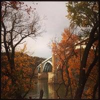 Photo taken at 40th St. Bridge by Nick G. on 11/5/2013